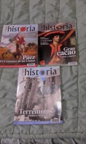 Lote De 4 Revistas El Desafio De La Historia, Remate
