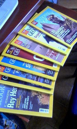 Lote De 8 Revistas National Geographic De Año  Oferta