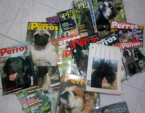 Lote De Revistas Todo Perros