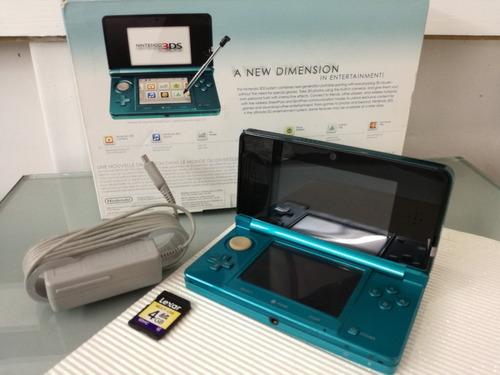 Nintendo 3ds Azul System