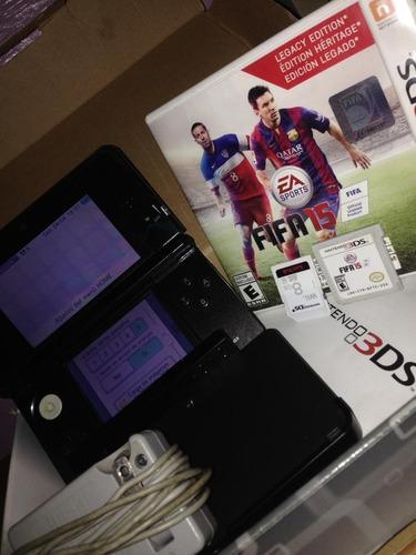 Nintendo 3ds/black, Tarjeta Sd Card: 8gb