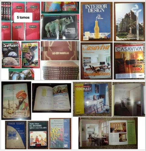 Paquete Libros Y Revistas