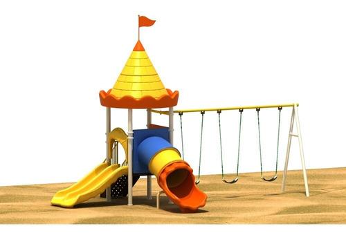 Parque Infantil, Plastico, Metal, Para Niños Y Niñas.