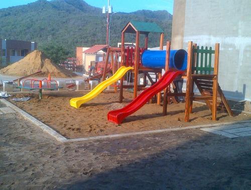 Parques Infantiles En Madera Osorca En Píritu, Anzoategui
