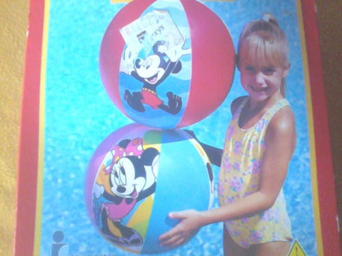 Pelota De Playa, Piscina. Disney Minnie - Mickey Mouse (3)