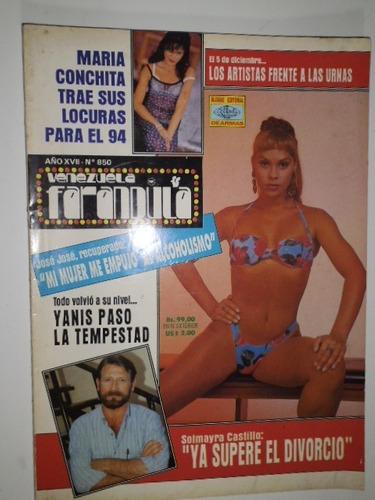 Revista Venezuela Farandula Nro. 850 Nov.  En Fisico