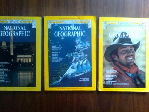 Revistas National Geographic . Lote De 3.