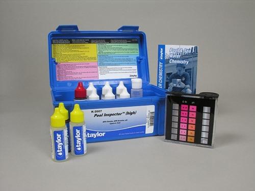 Test Kit Para Aguas De Piscinas