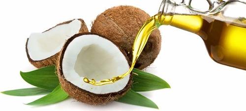 Aceite De Coco Uso Cosmetico 500 Cc Medio Litro 5 Verdes