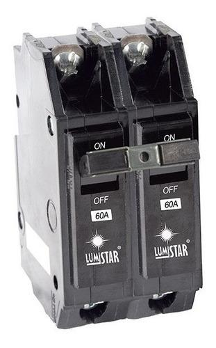 Breaker 2x60 Amp Lumistar Superficial