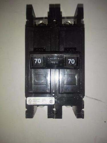 Breaker Superficial De 2x70, Amperios Cutler