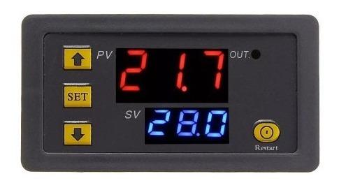 Controlador De Temperatura Termostato Termómetro 12v