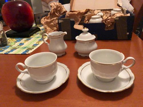 Juego De 12 Tazas Bavaria Para Cafe O Te $220