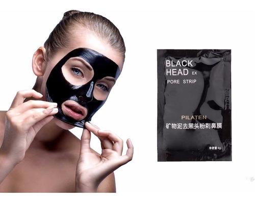 Mascarillas Negra Pilaten Puntos Negro Facial Carbón