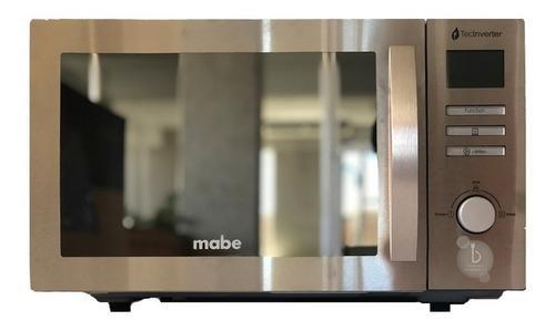 Microondas 1.1 Acero Inox 30 Lts Mabe Inverter