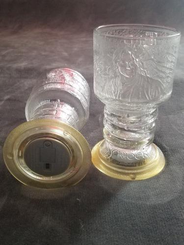 8 Vasos De Vidrio El Señor De Los Anillos Con Luz Interna