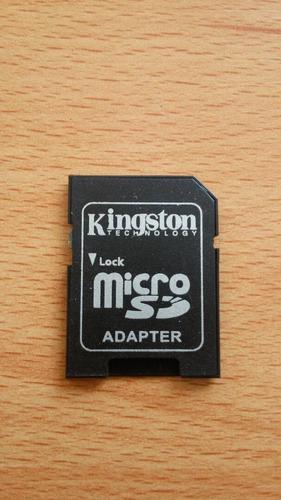 Adaptador Kingston De Micro Sd A Sd. En Blister 3 Und