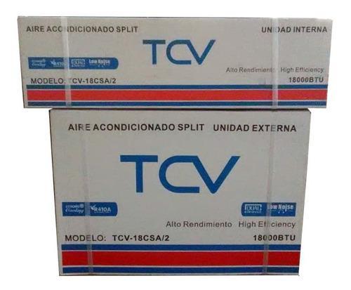 Aire Acondicionado Split 18000 Btu 220v Tcv Cnr-0691