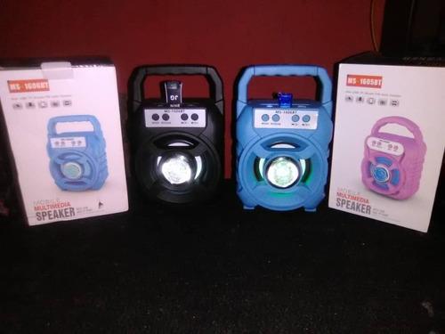 Corneta Con Bluetooth Recargable Pendrive Memoria Y Radio Fm
