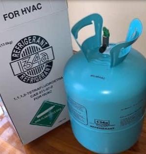Gas Refrigerante R134 A, Bombona De 13, 6 Kgs