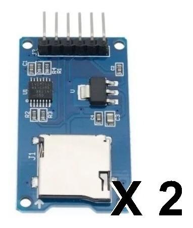 Módulo Memoria Micro Sd Adaptador Arduino Shield Spi