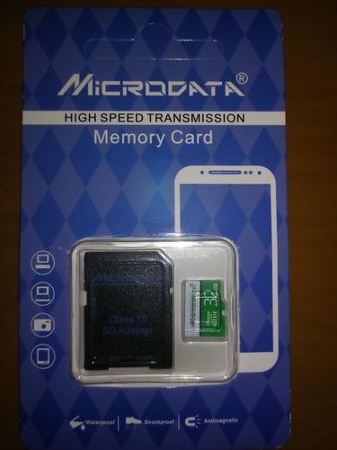 Memoria Micro Sd 32gb Clase 10 Microdata