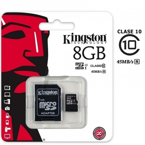 Memoria Micro Sd 8 Gb Kingston