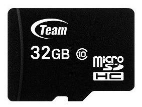 Memoria Micro Sd Hc 32 Gb + Adapt Sd Teamgroup Class10
