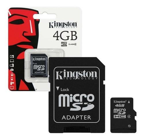 Memoria Micro Sd Kingston De 4gb Alta Calidad
