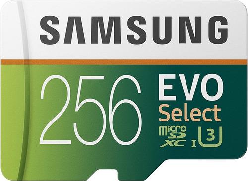 Memoria Micro Sd Samsung Evo 256gb