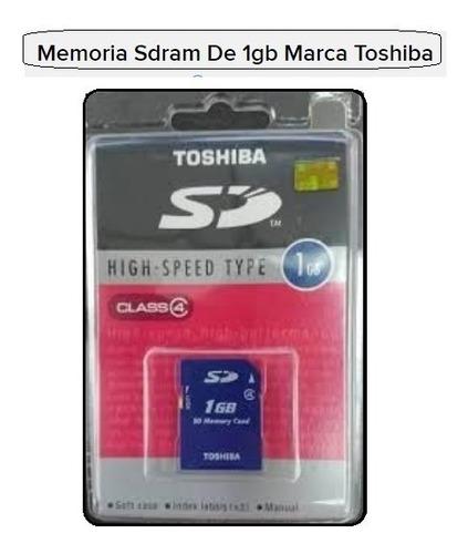 Memoria Sdram Clase 4 De 1gb Marca Toshiba