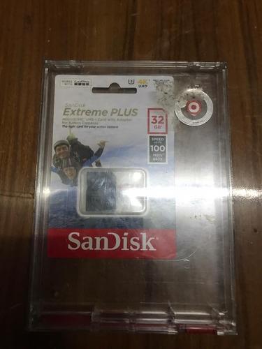Sandisk Extreme Plus - Tarjeta De Memoria 32 Gb Microsdhc