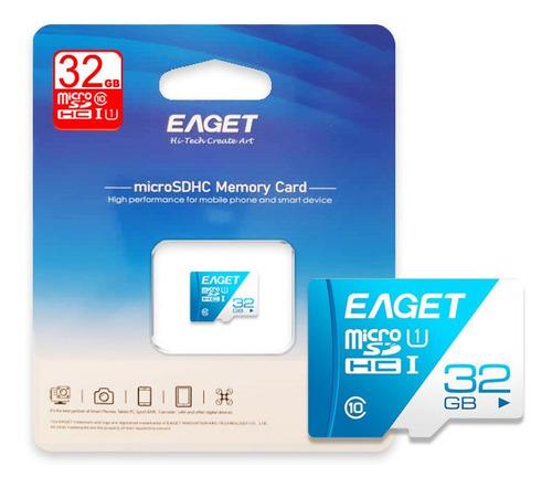 Tarjeta Microsd 32gb Eaget