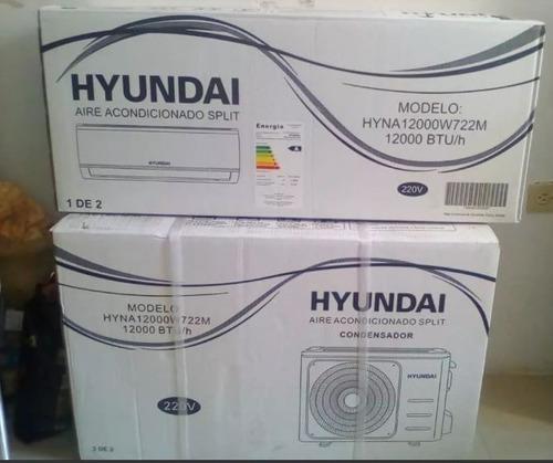 Vendo Aire Acondicionado Split 12mil Btu Hyundai