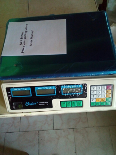 Balanza Electronica Oster Peso Digital