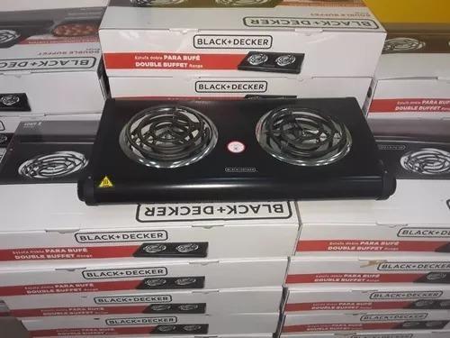 Cocina Eléctrica Black And Decker 2 Hornillas Modelo