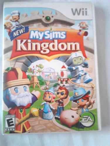 Juego De Wii Original My Sims Kingdom (físico)