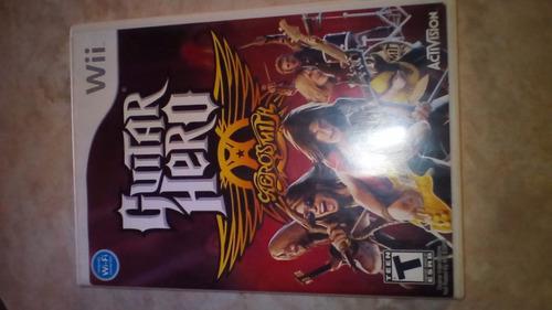 Juego Wii Original Guitar Hero Aerosmith