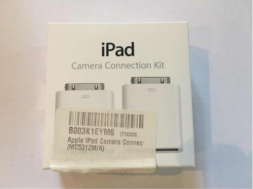 Kit De Conexión De Cámara Para iPad (usb Y Tarjeta Sd)