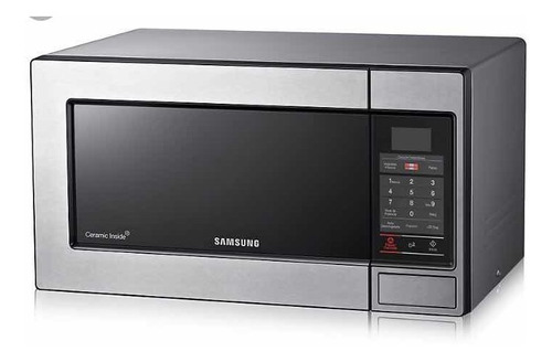 Microondas Horno Samsung 23 Litros Ame83m Acero Inoxidable