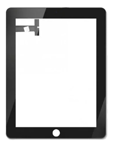 Táctil Mica Digitizer Para Apple iPad 1 A A Wifi 3g