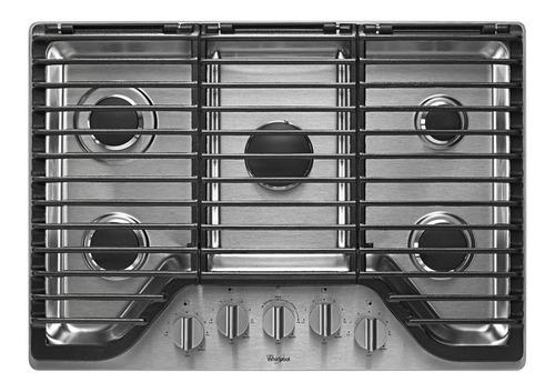 Tope De Cocina 5 Hornillas Whirlpool Wcg97us0hs 30 Pulgadas
