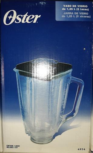 Vaso Para Licuadora Oster Original Con Tapa.