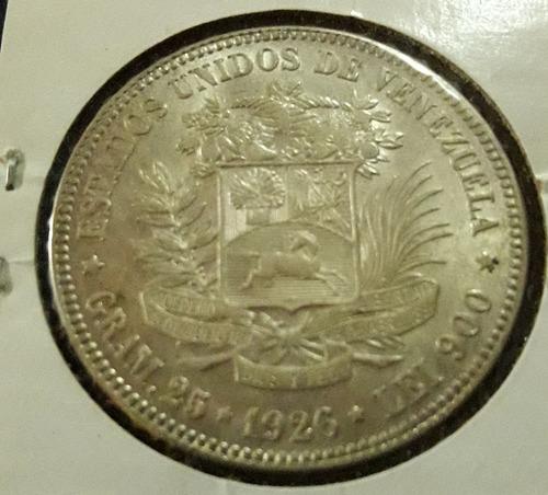 Difícil Y Excelente Moneda 5 Bs . Oportunidad.