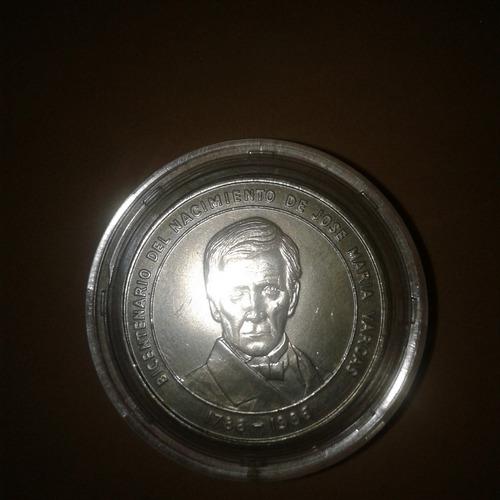 Moneda Bicentenario Del Nacimiento De José María Vargas