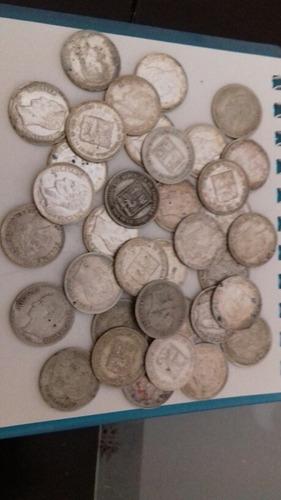 Moneda De Plata 0.25