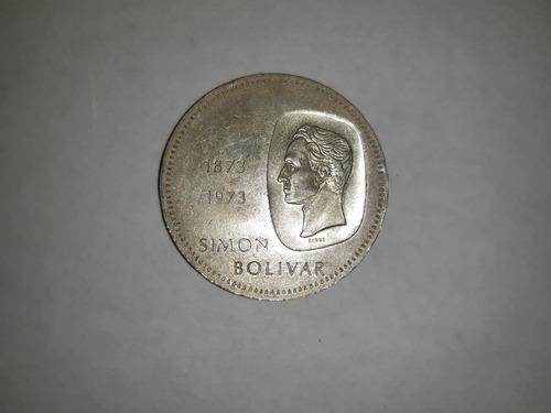 Moneda De Plata De 10 Bolívares Bicentenario De Colección
