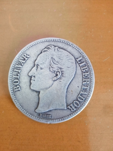 Moneda De Un Fuerte Año  Lei 900 Gram 25