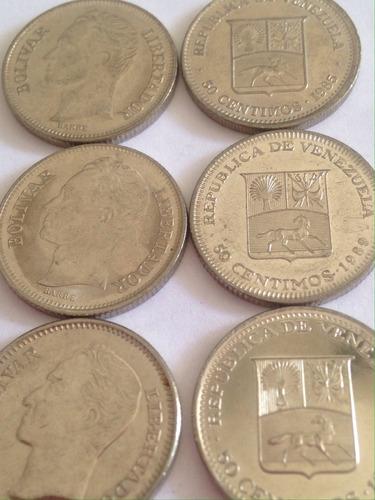 Monedas De Colección De 50 Céntimos
