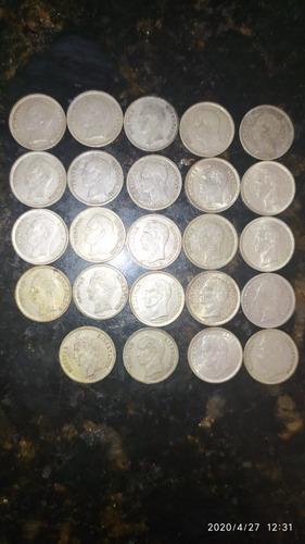 Monedas De Medios De Plata 24 Pz Año